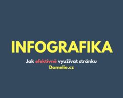 CZ infografika - Jak efektivně využívat stránku Domelie.cz